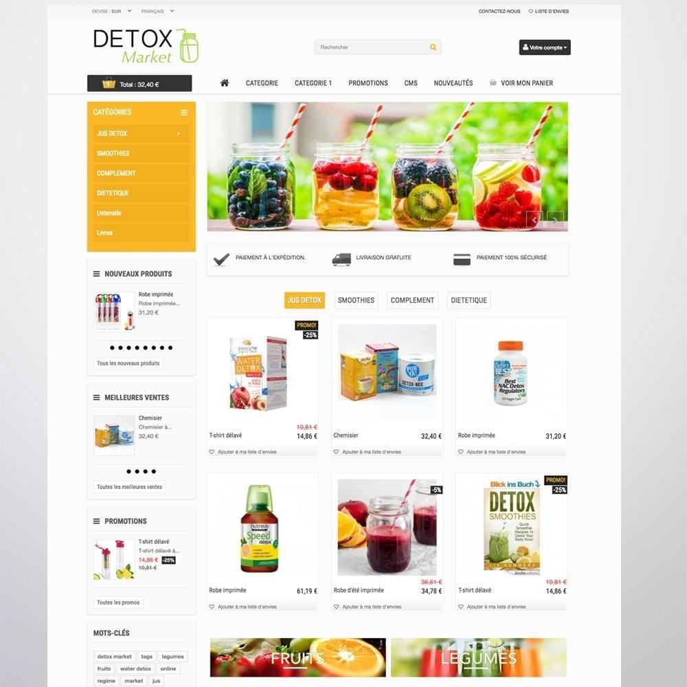 theme - Gesundheit & Schönheit - Detox Market - 6