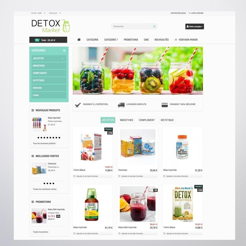 theme - Gesundheit & Schönheit - Detox Market - 7