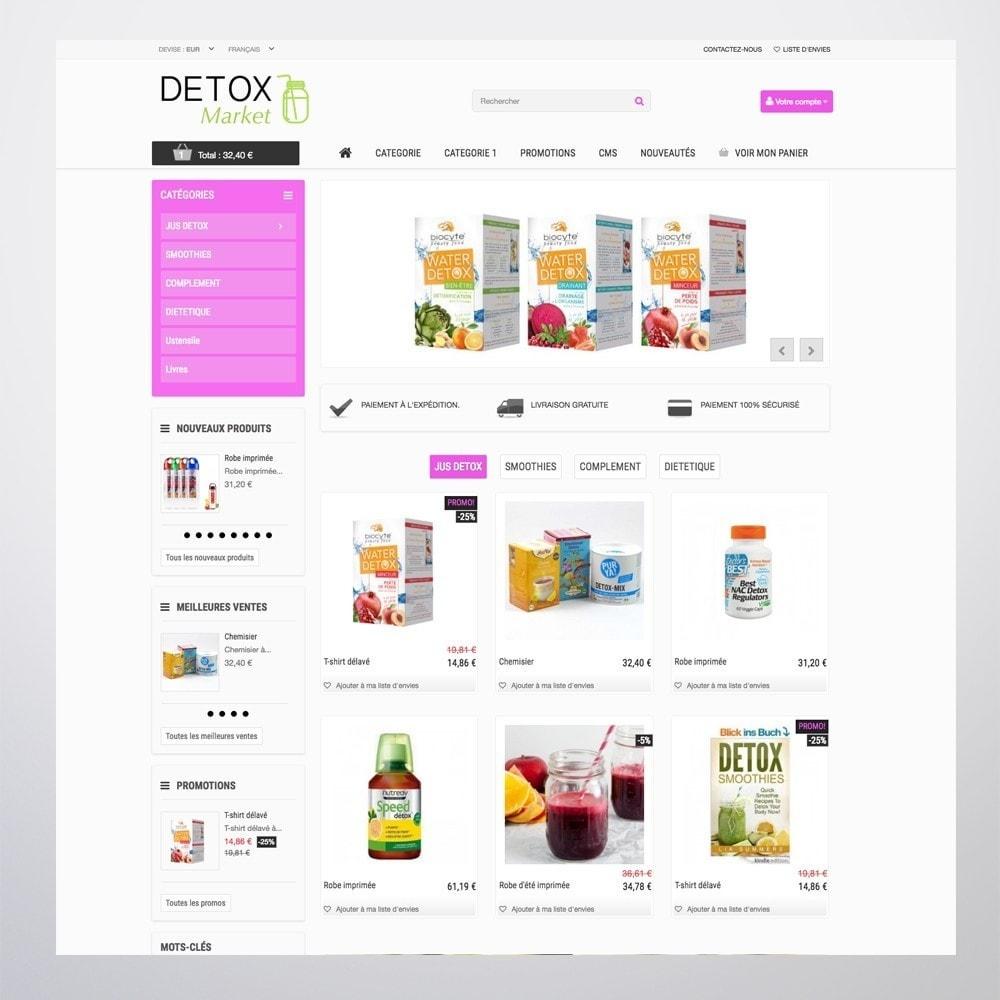 theme - Gesundheit & Schönheit - Detox Market - 8