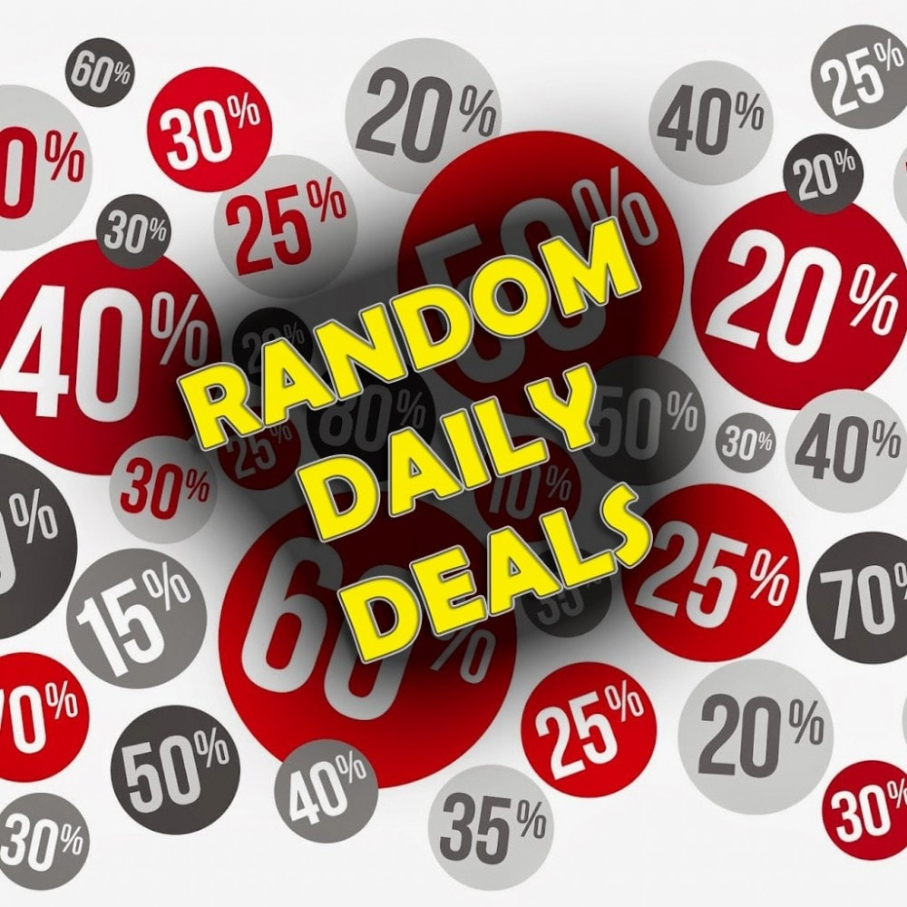 module - Ventes Flash & Ventes Privées - Random Daily Deals - 1