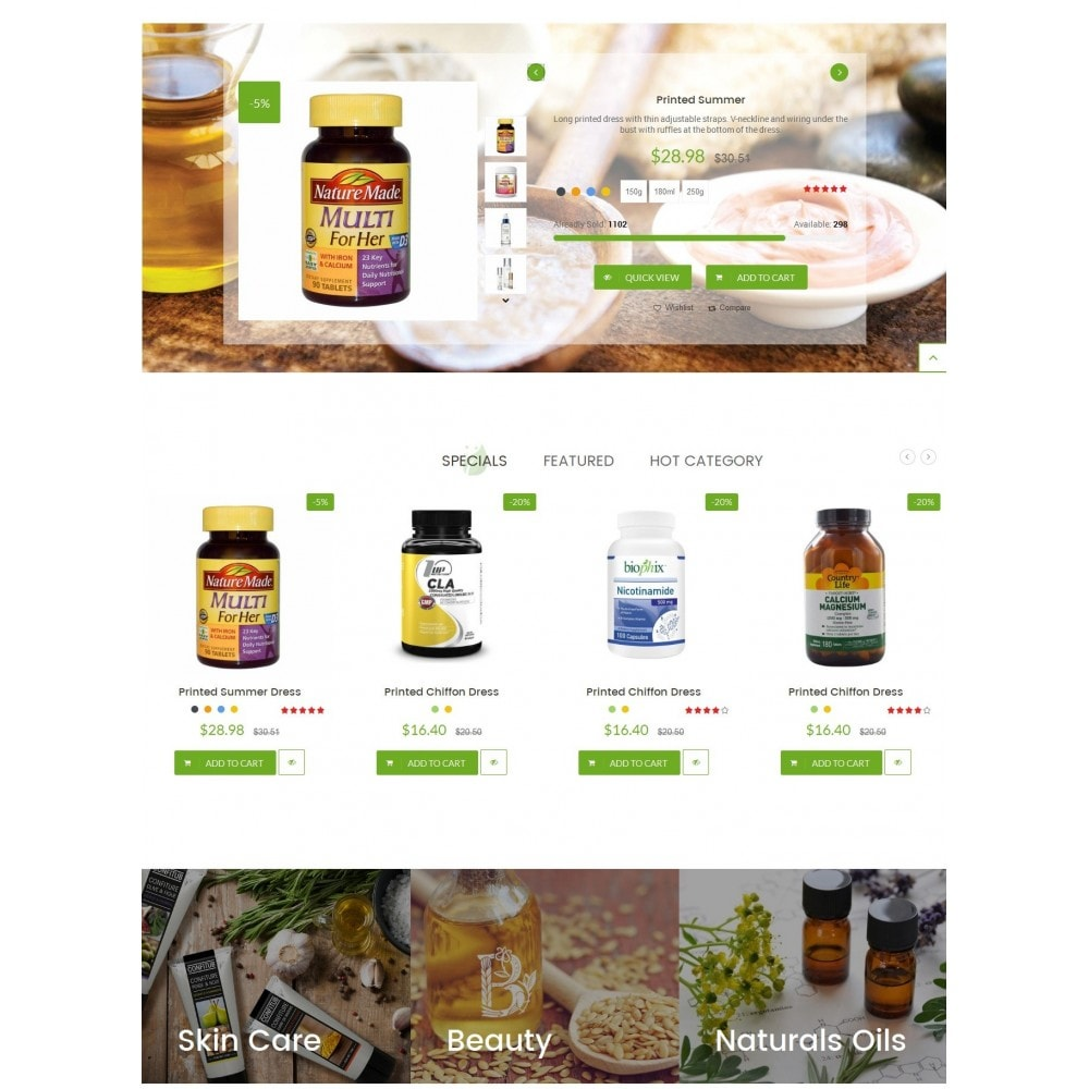 theme - Health & Beauty - LeafCare - Bio Medical Store - 3