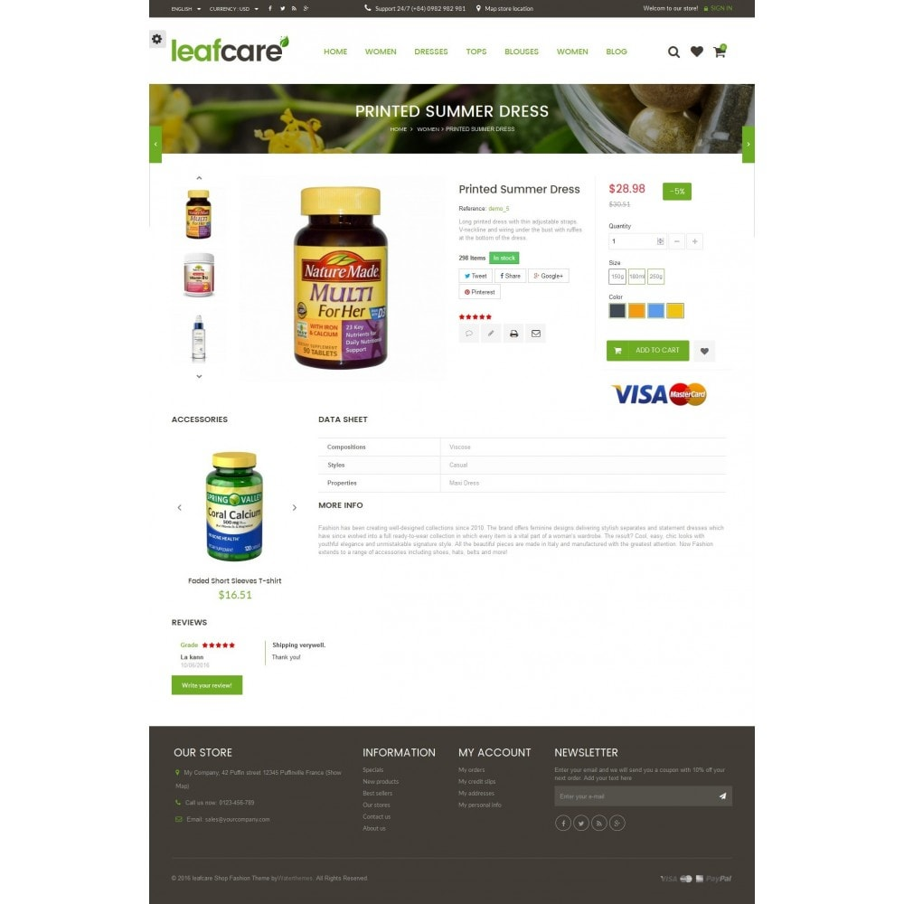theme - Health & Beauty - LeafCare - Bio Medical Store - 8