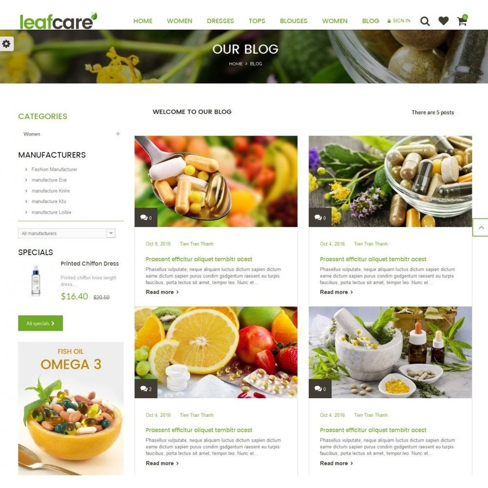 theme - Health & Beauty - LeafCare - Bio Medical Store - 9