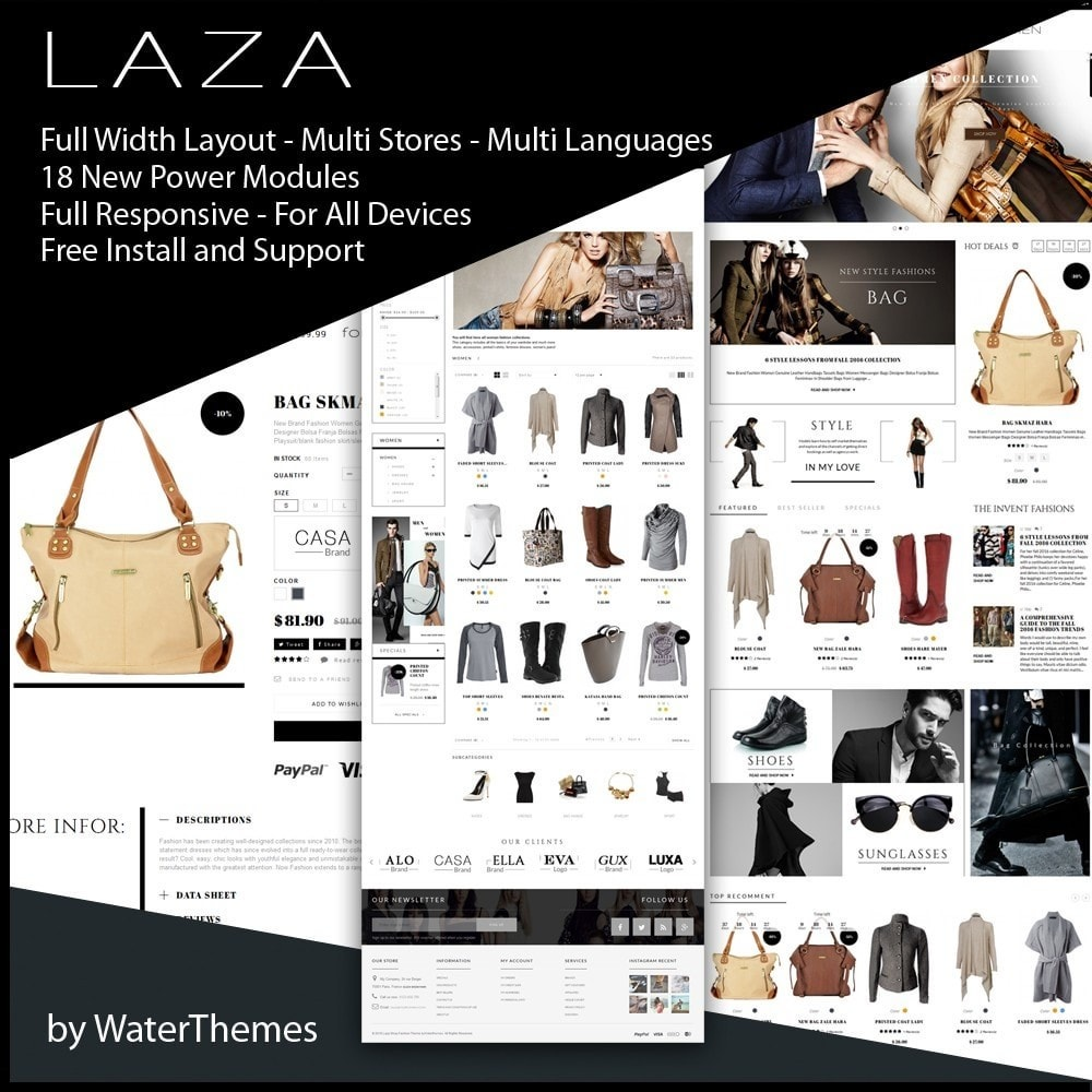 theme - Mode & Chaussures - Laza Fashion Store - 1