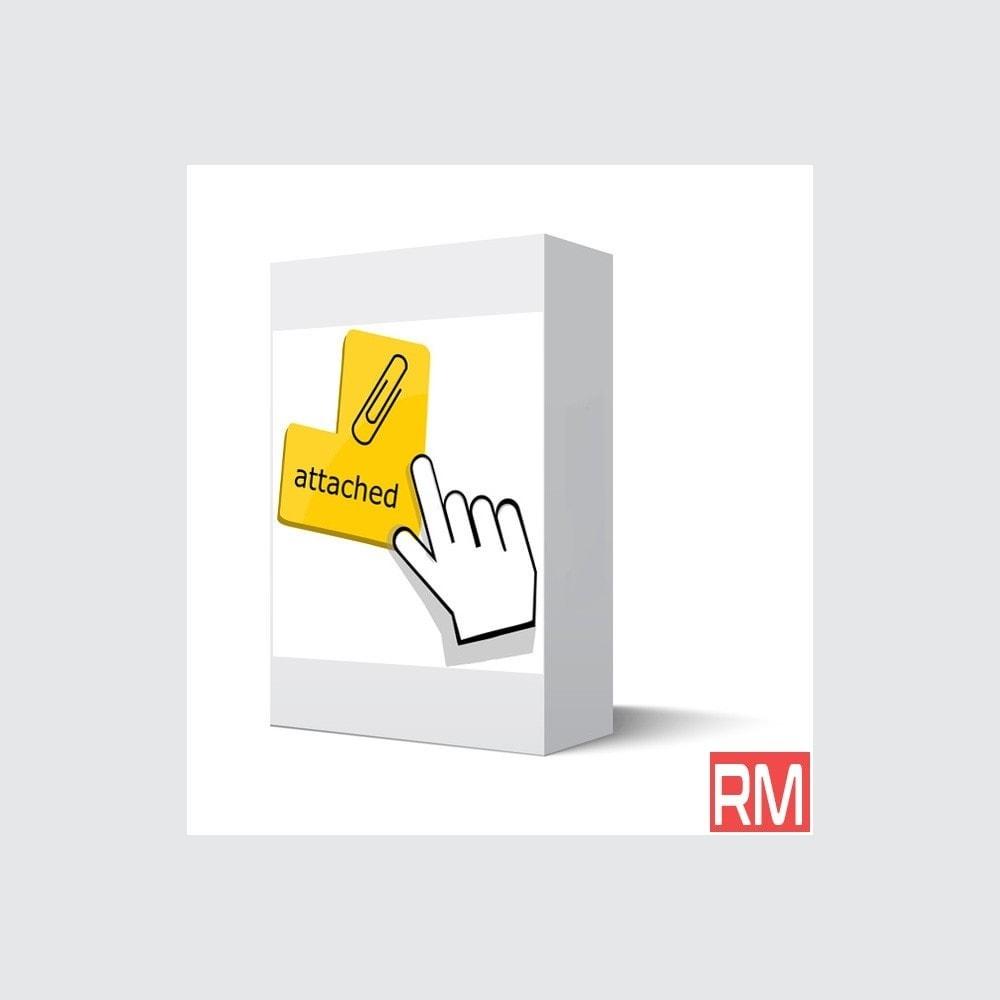 module - Service Client - Fichiers Joints - 1