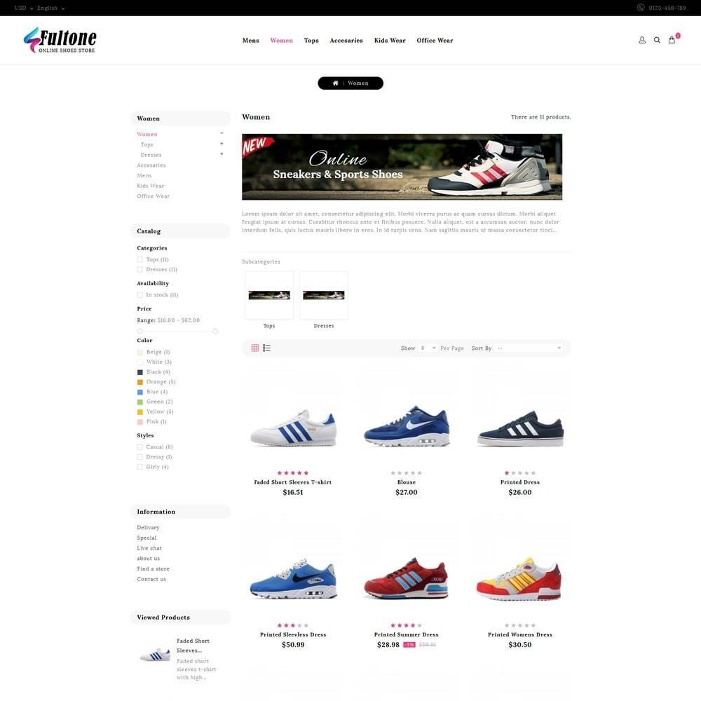 theme - Fashion & Shoes - Fultone - Footwear Store - 3