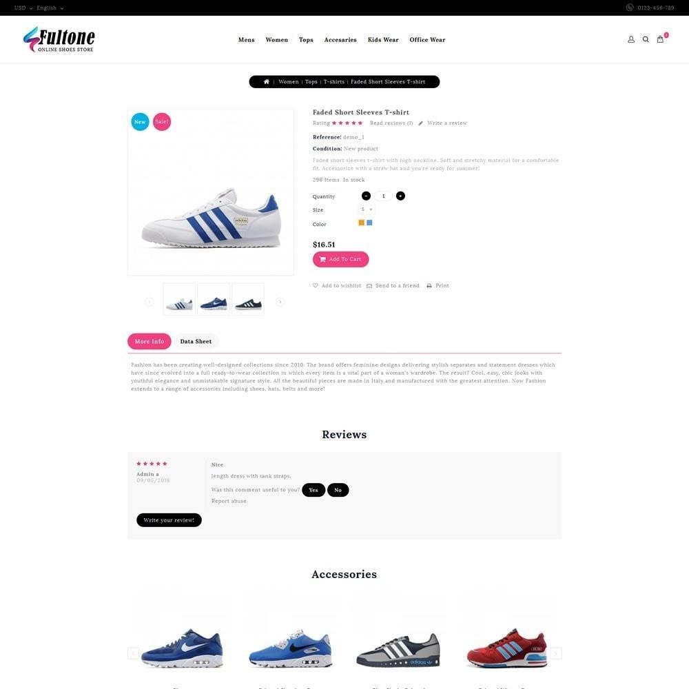 theme - Fashion & Shoes - Fultone - Footwear Store - 5