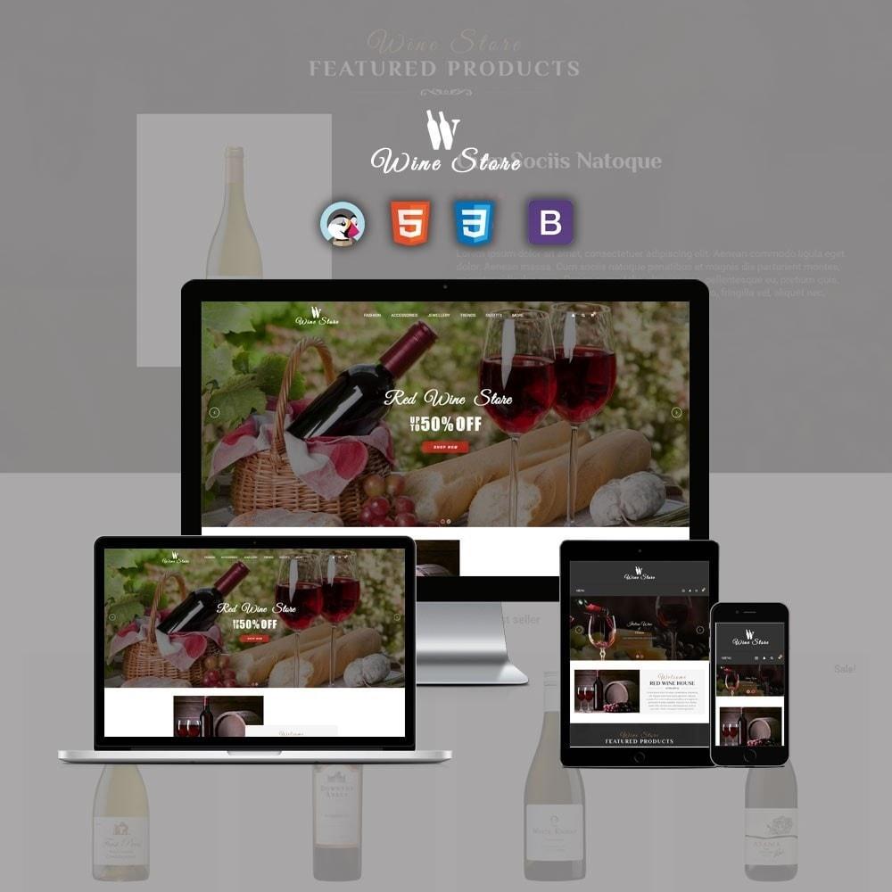 theme - Napoje & Wyroby tytoniowe - Wine Store - 1