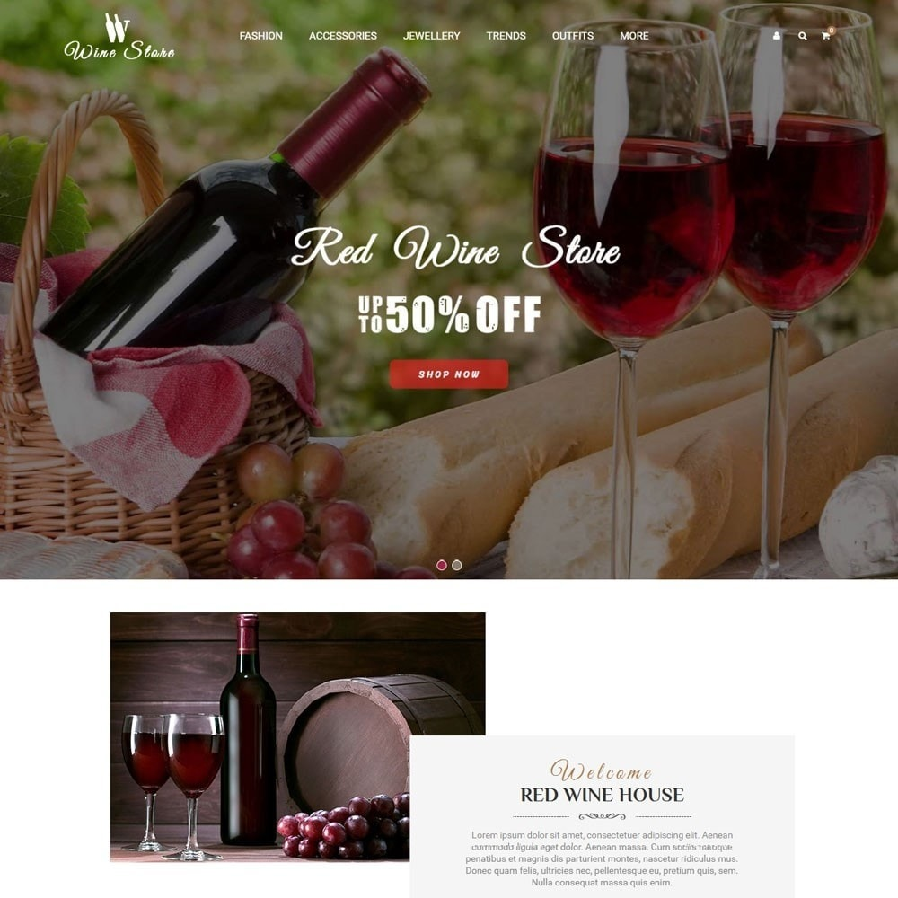 theme - Boissons & Tabac - Wine Store - 2