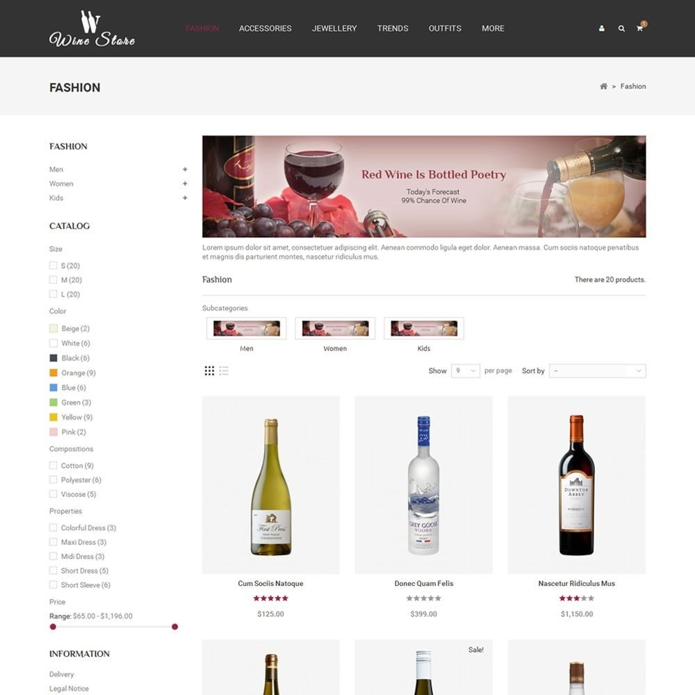theme - Drink & Tobacco - Wine Store - 3