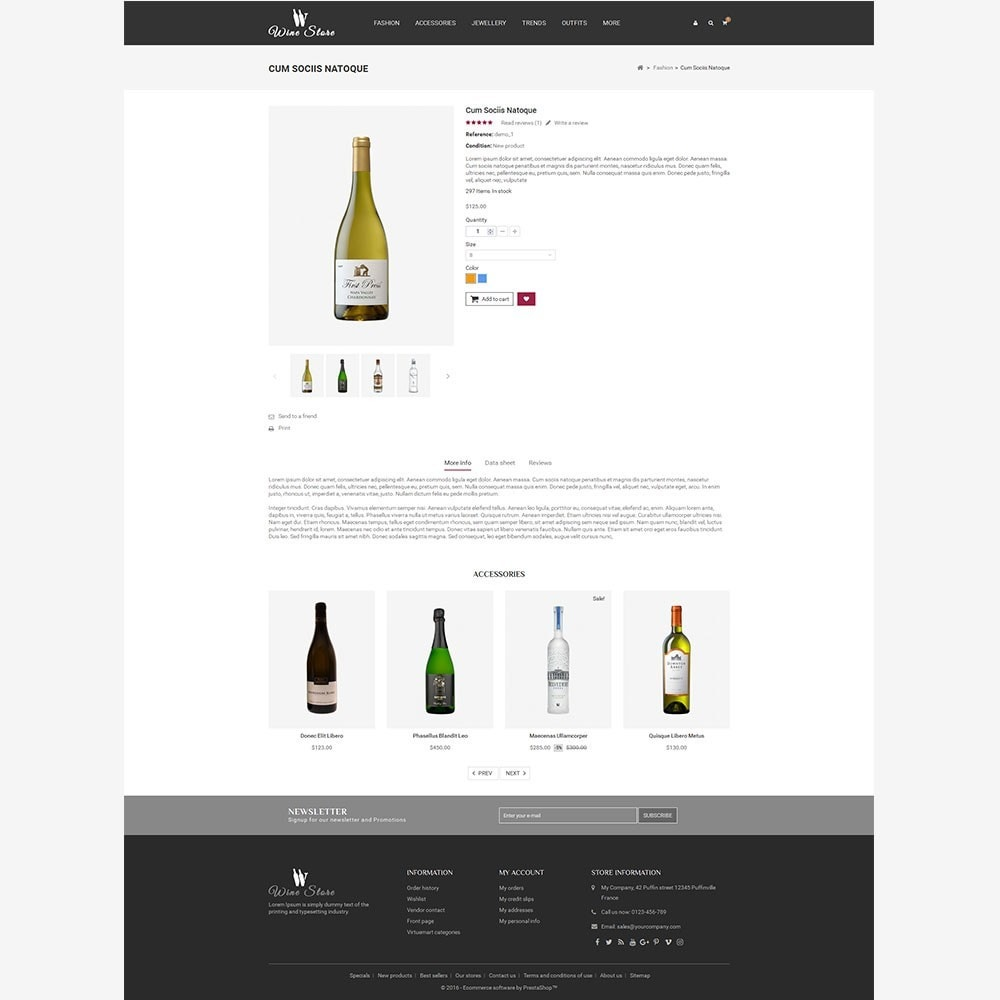 theme - Boissons & Tabac - Wine Store - 7