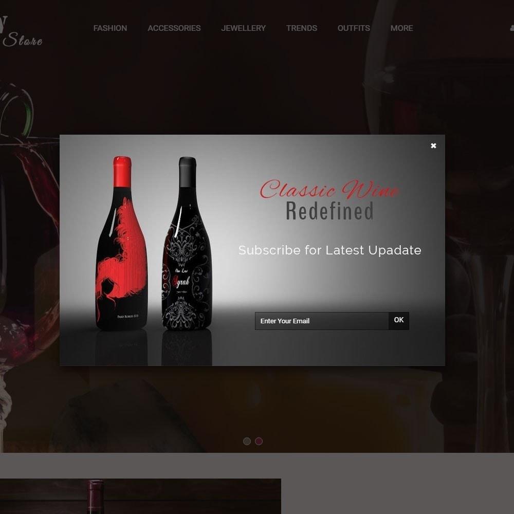theme - Napoje & Wyroby tytoniowe - Wine Store - 8