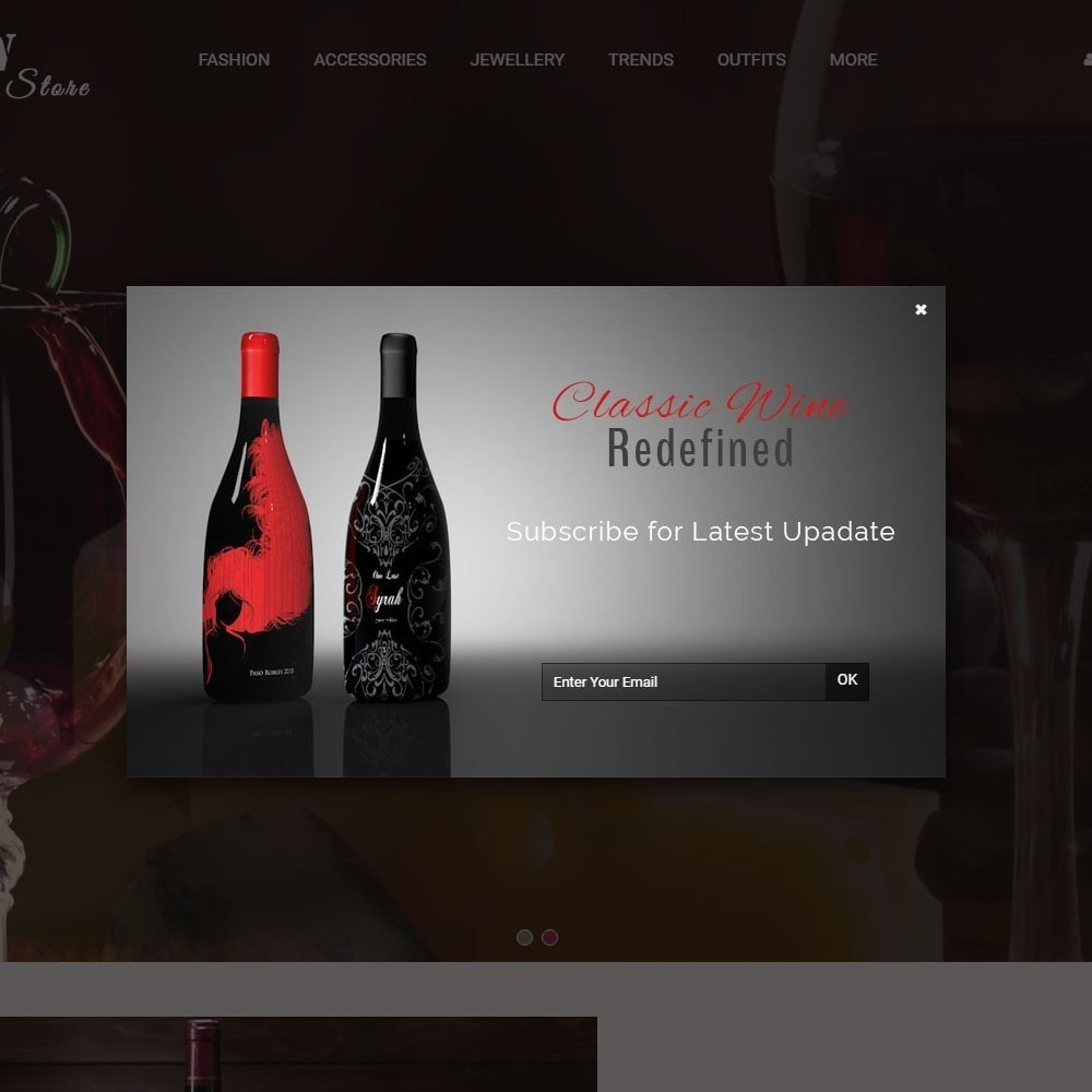 theme - Drink & Tobacco - Wine Store - 8