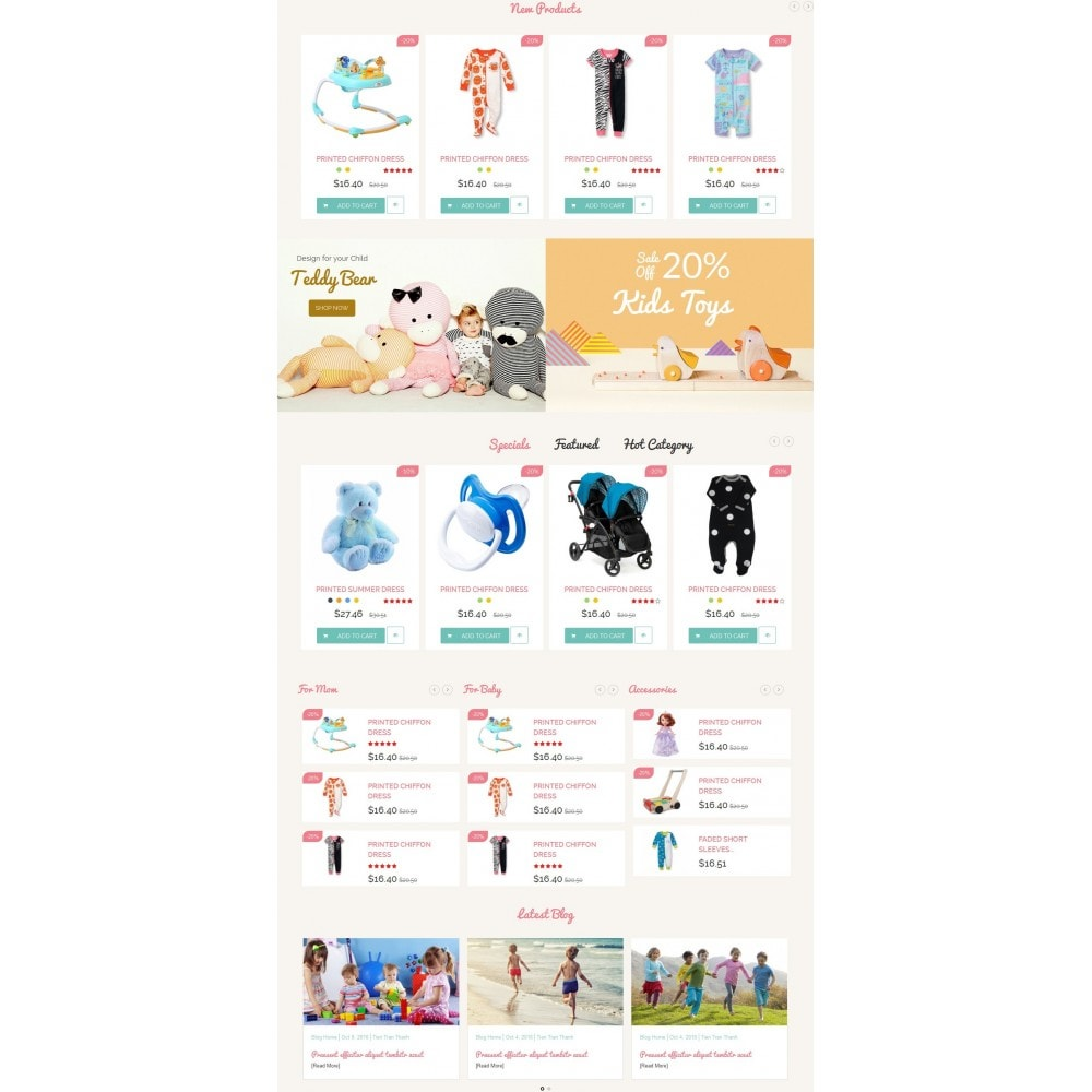 theme - Kids & Toys - Smart Baby And Kids Store - 3