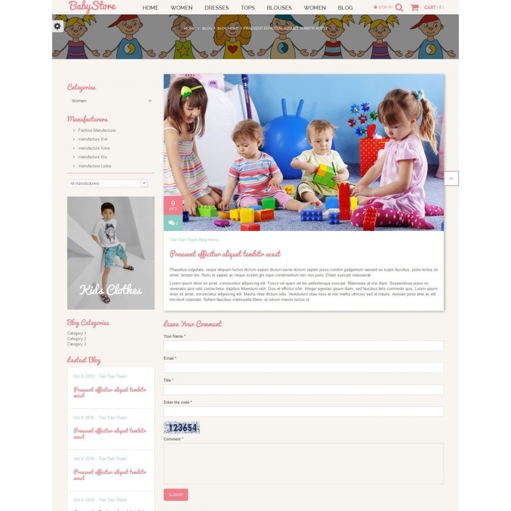 theme - Niños y Juguetes - Smart Baby And Kids Store - 8