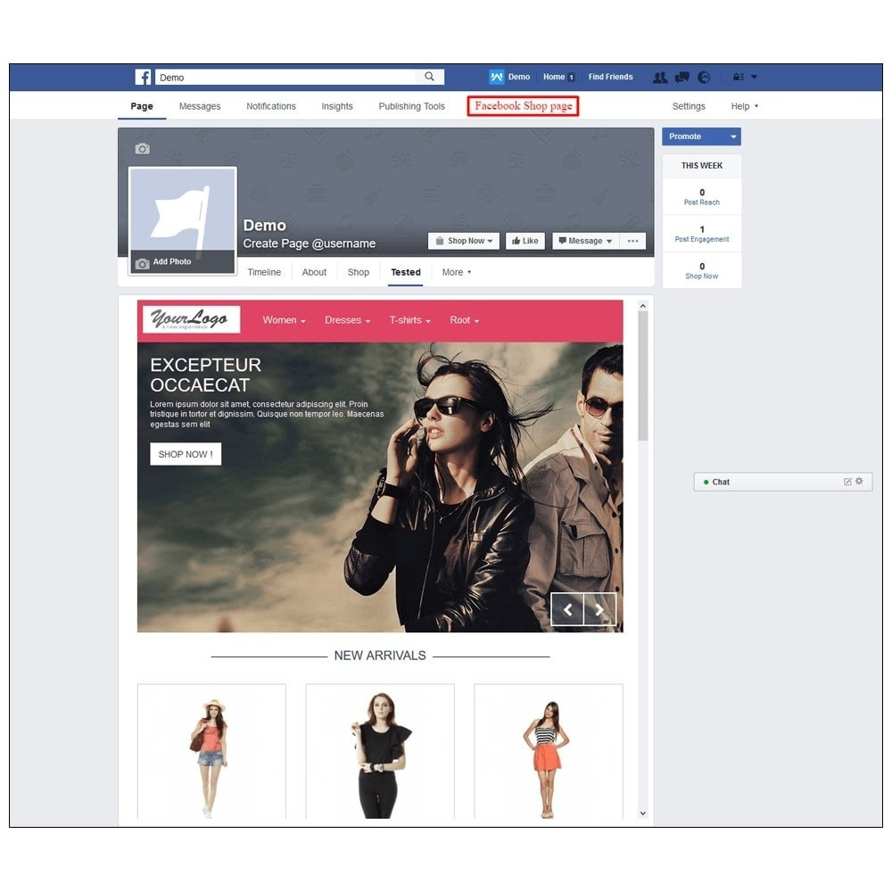 module - Products on Facebook & Social Networks - Webkul Fb Shop - Social promotion of E-store - 22