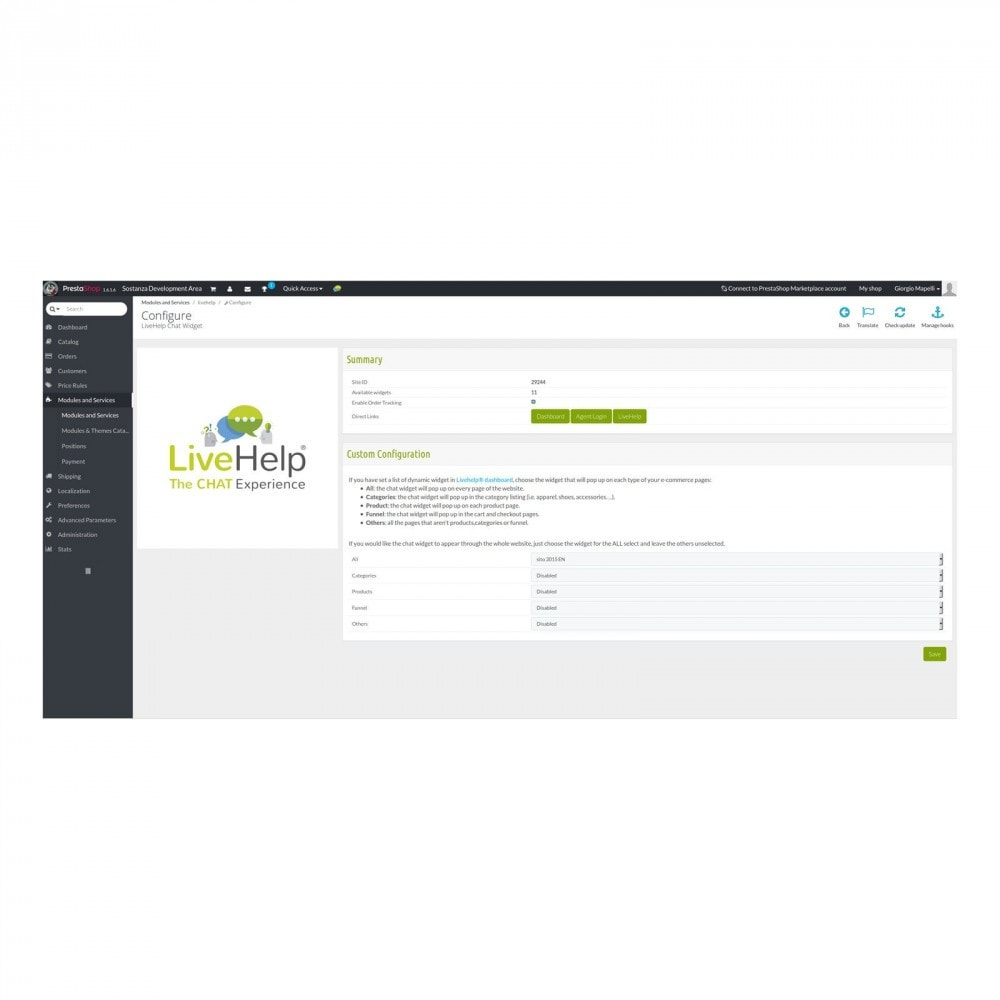 module - Support & Online-Chat - LiveHelp® Live Chat - 3