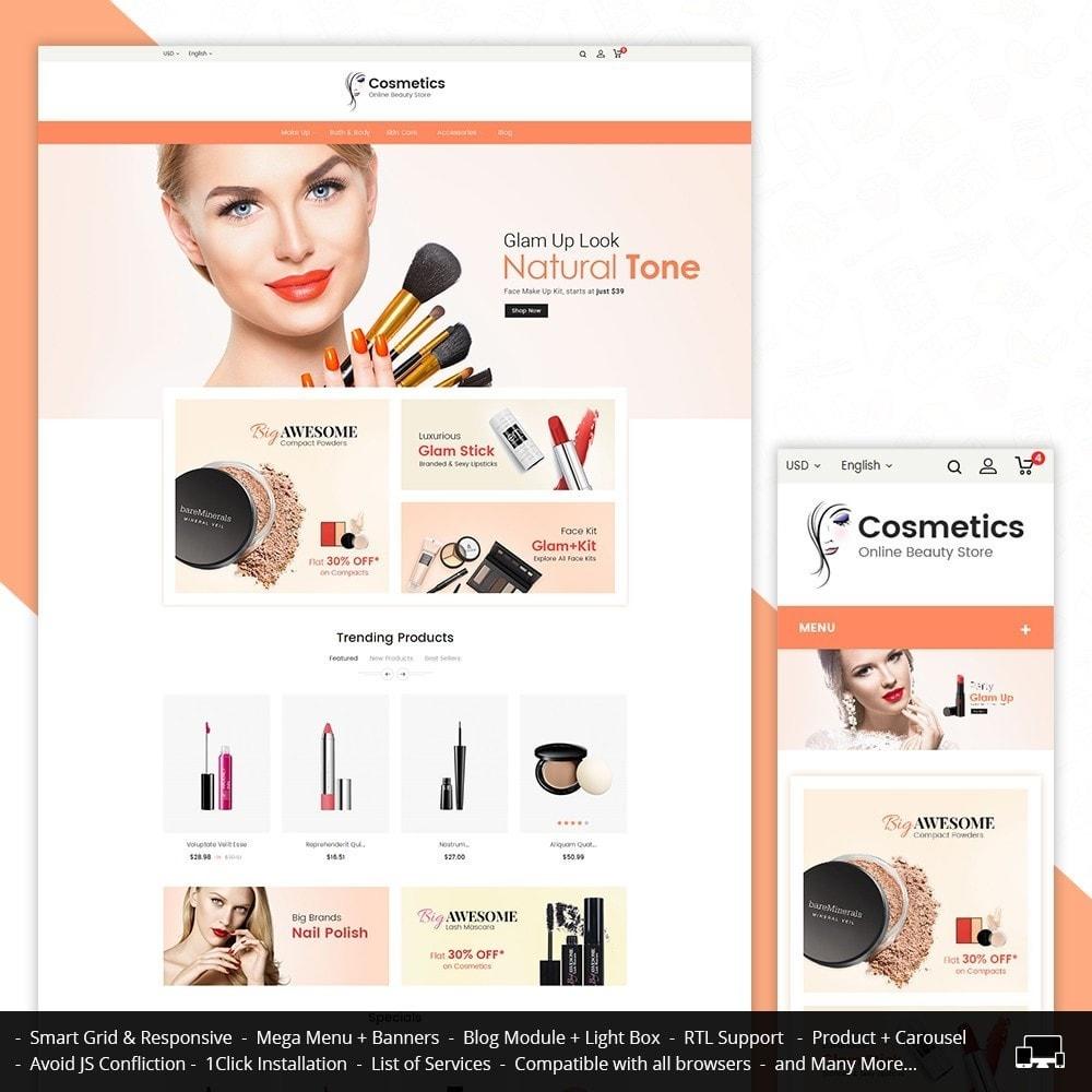 theme - Zdrowie & Uroda - Cosmetic Store - 1