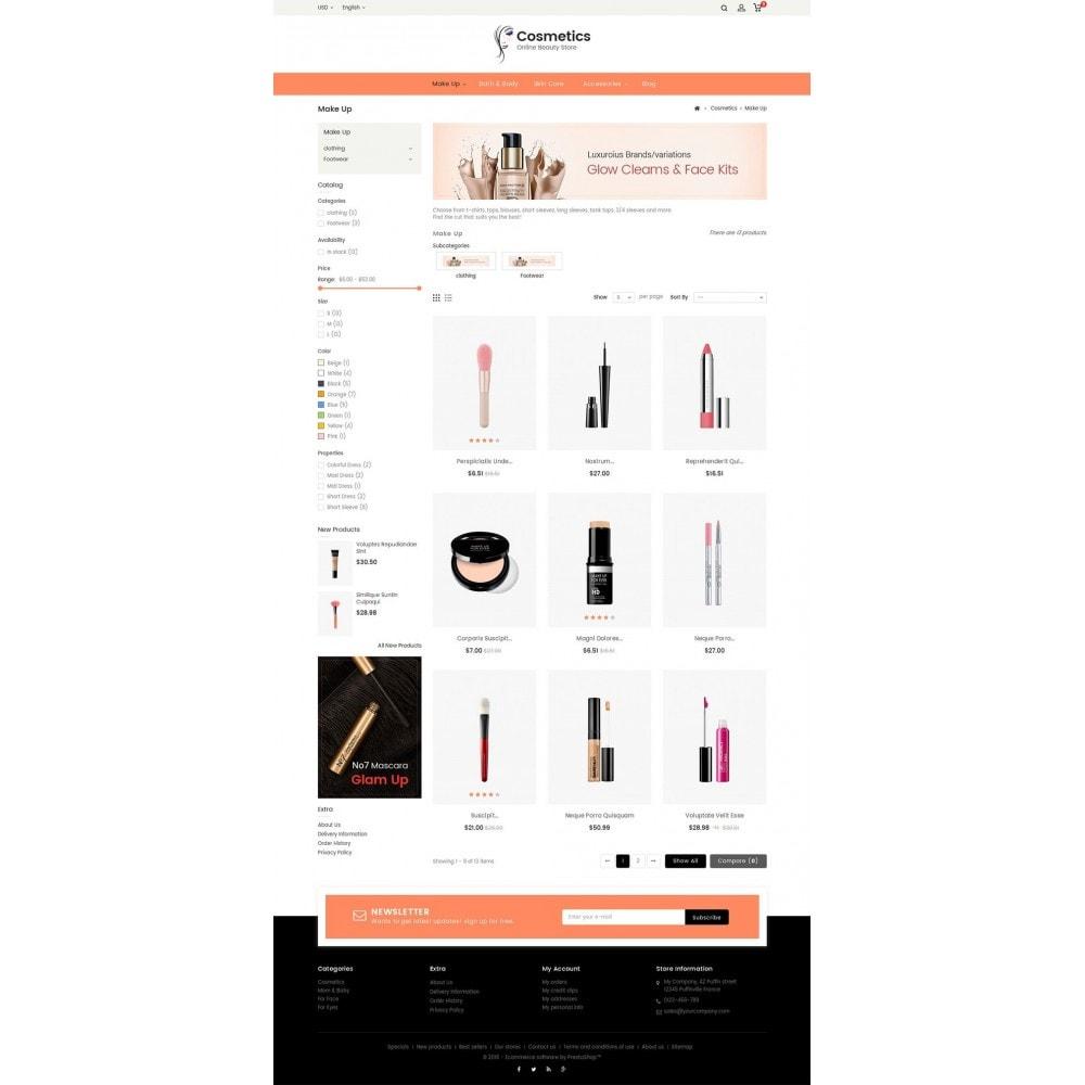 theme - Zdrowie & Uroda - Cosmetic Store - 3