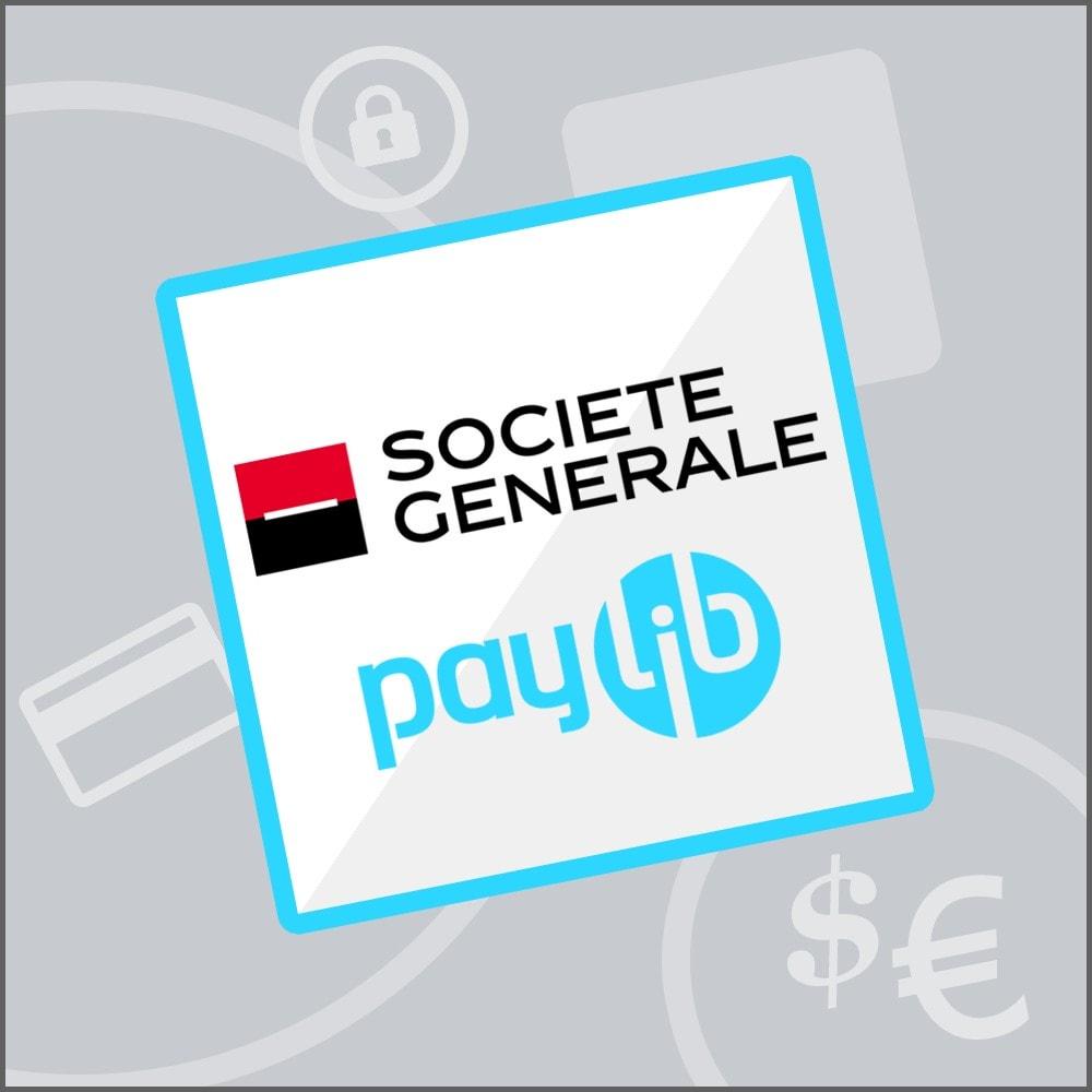 module - Zahlung per Kreditkarte oder Wallet - Sogenactif 2.0 - Société Générale Atos Sips Worldline - 1