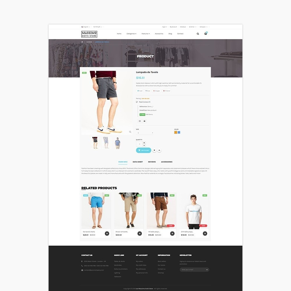 theme - Fashion & Shoes - Leo Massimo - 3