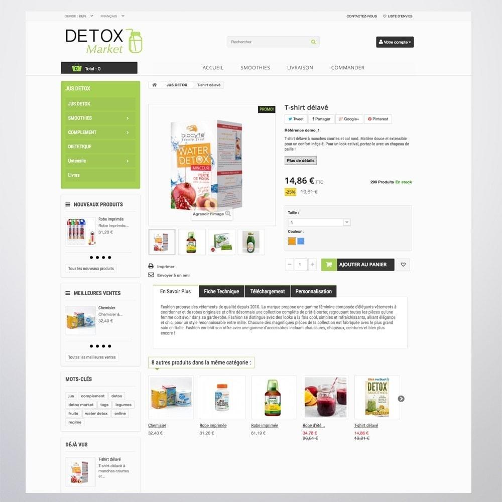 theme - Gesundheit & Schönheit - Detox Market - 9