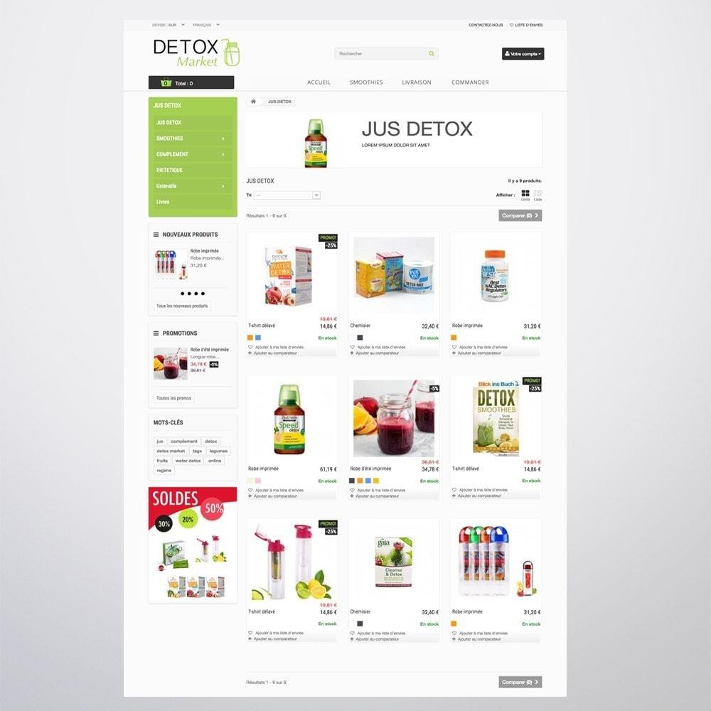 theme - Gesundheit & Schönheit - Detox Market - 11