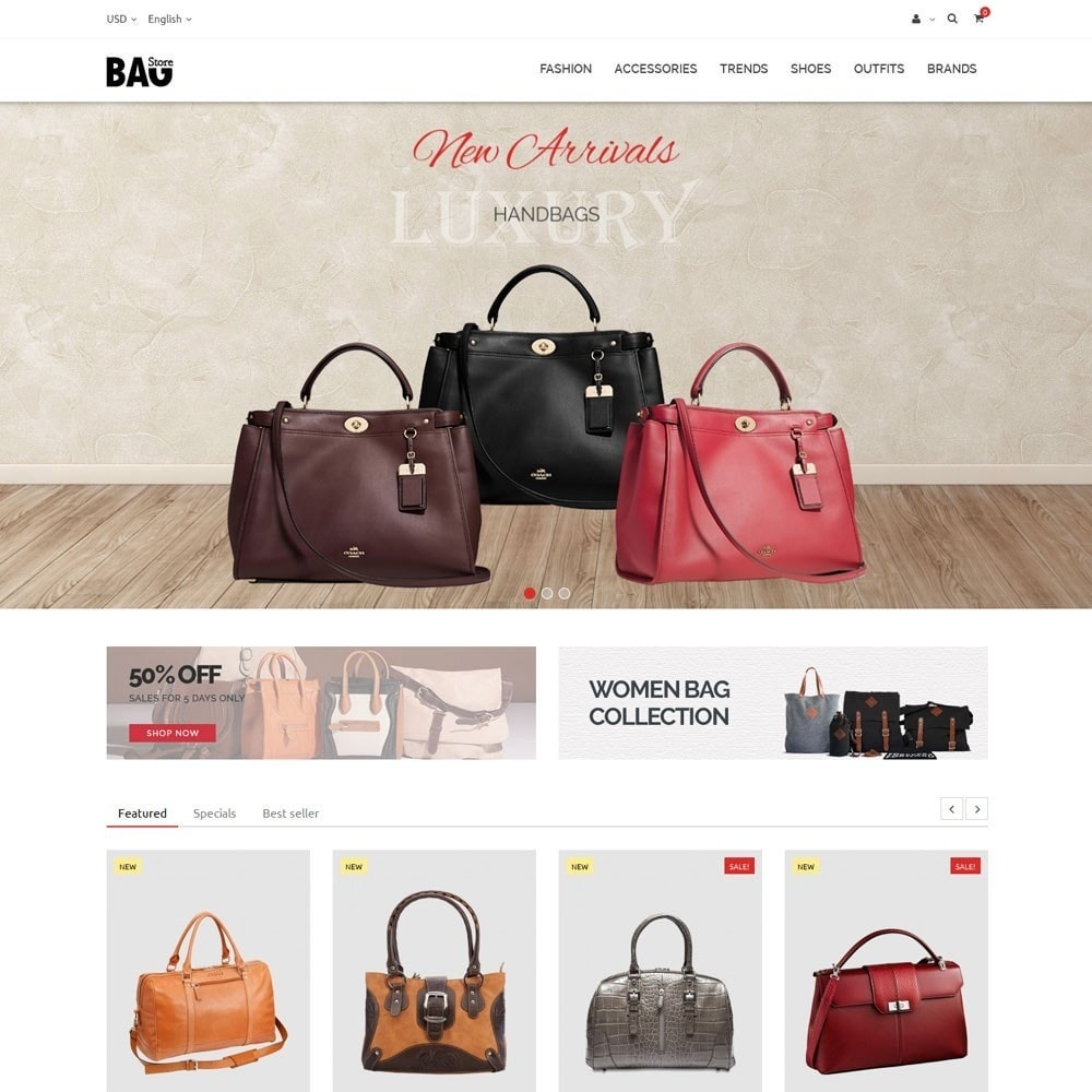 theme - Moda & Calçados - Bag Store - 2