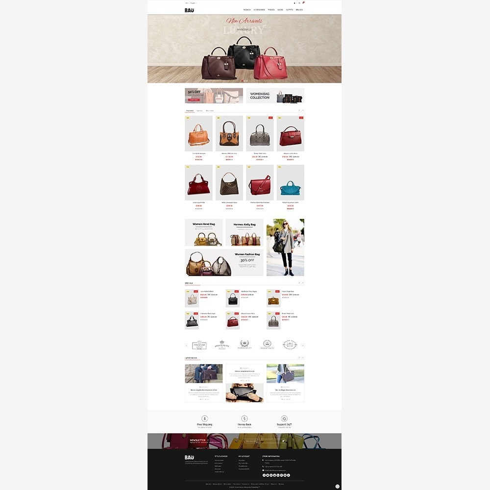 theme - Mode & Chaussures - Bag Store - 4
