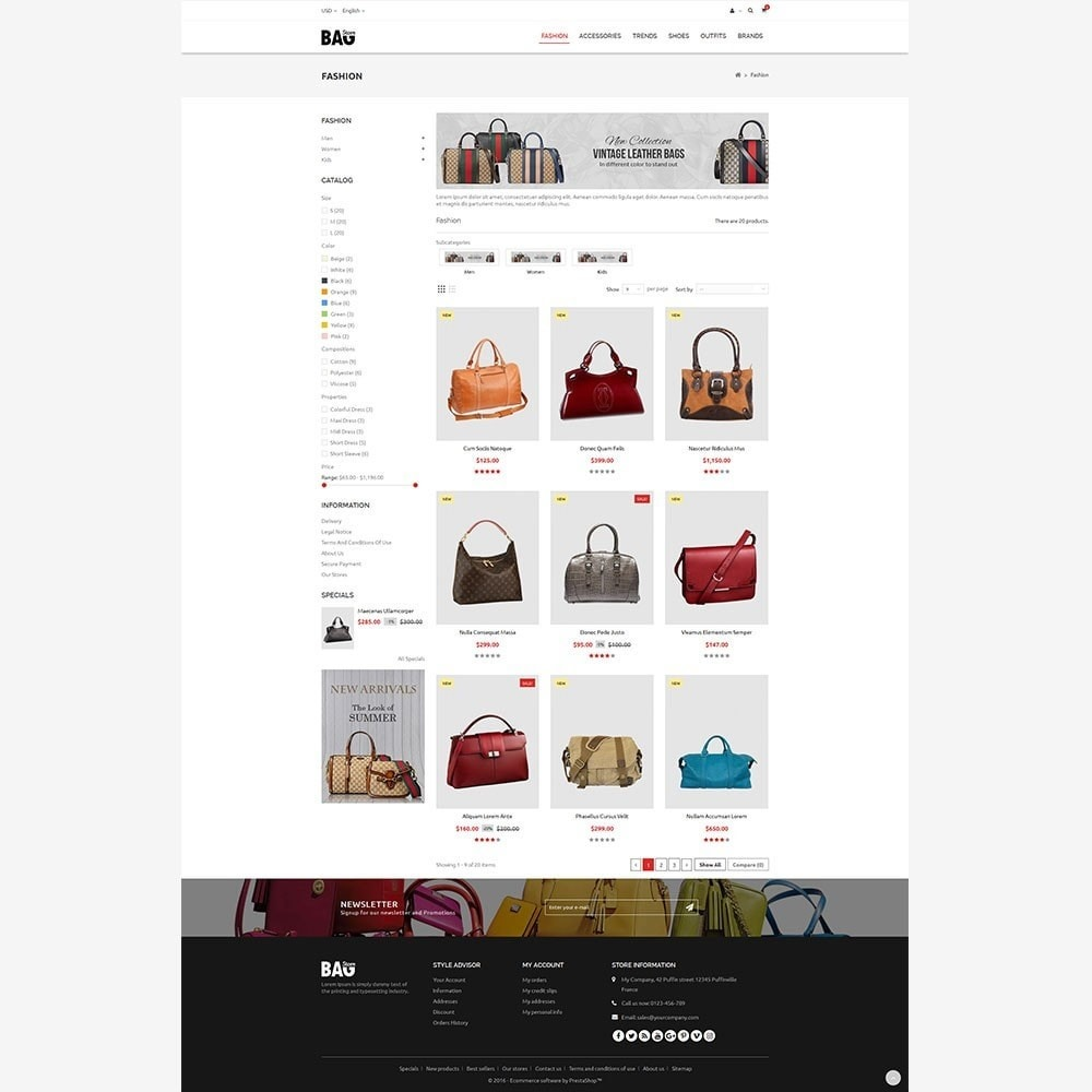 theme - Mode & Chaussures - Bag Store - 5
