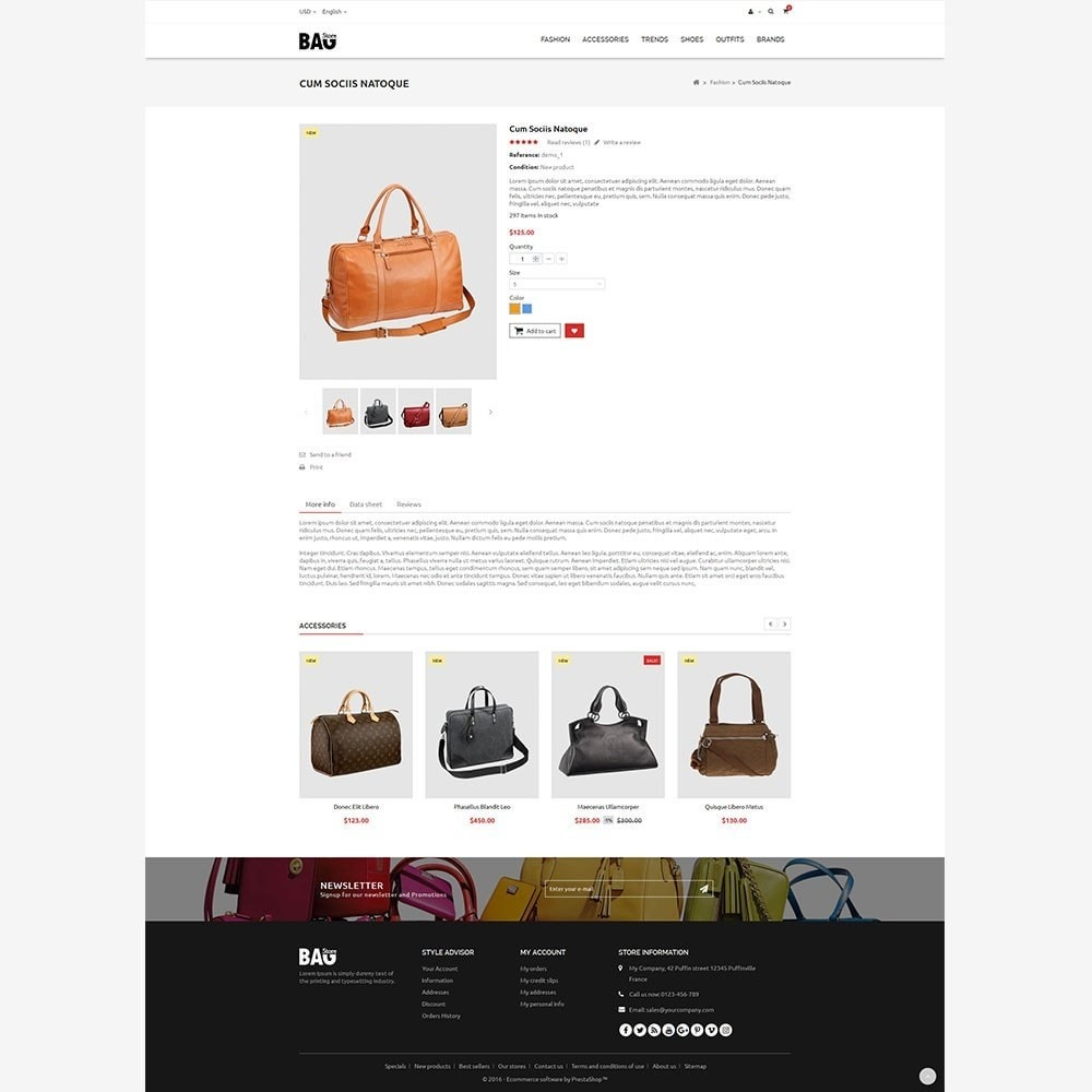 theme - Mode & Chaussures - Bag Store - 7