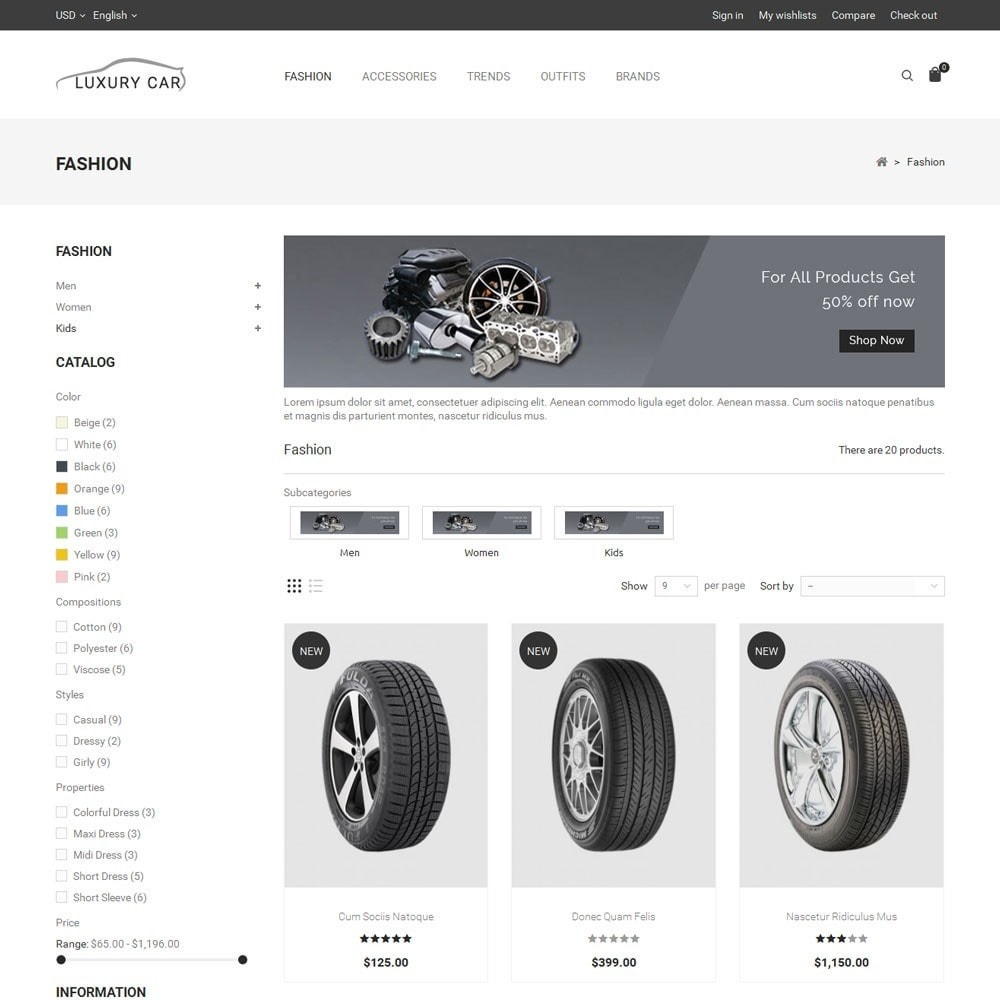 theme - Auto & Moto - Luxury Car Store - 3
