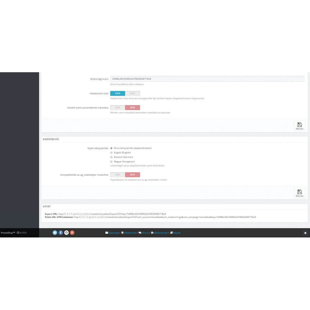 module - Comparadores de preços - Olcsobbat Product Feed - 3