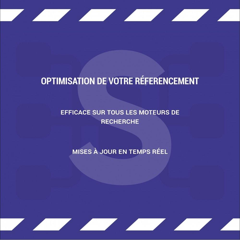 module - SEO (référencement naturel) - Sitemap Simple (Multiboutique, Multilangue et Blogs) - 6