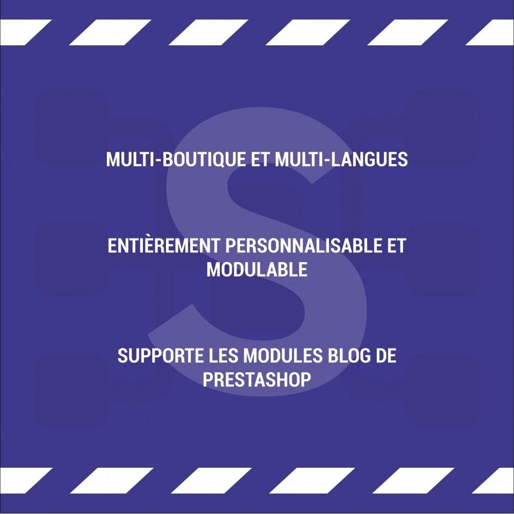 module - SEO (référencement naturel) - Sitemap Simple (Multiboutique, Multilangue et Blogs) - 7