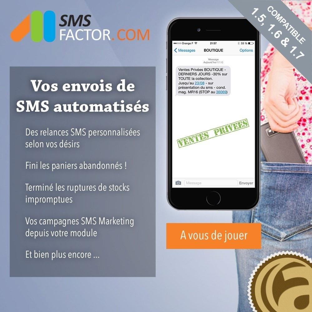 module - Remarketing & Paniers Abandonnés - Campagnes SMS automatisées - 1