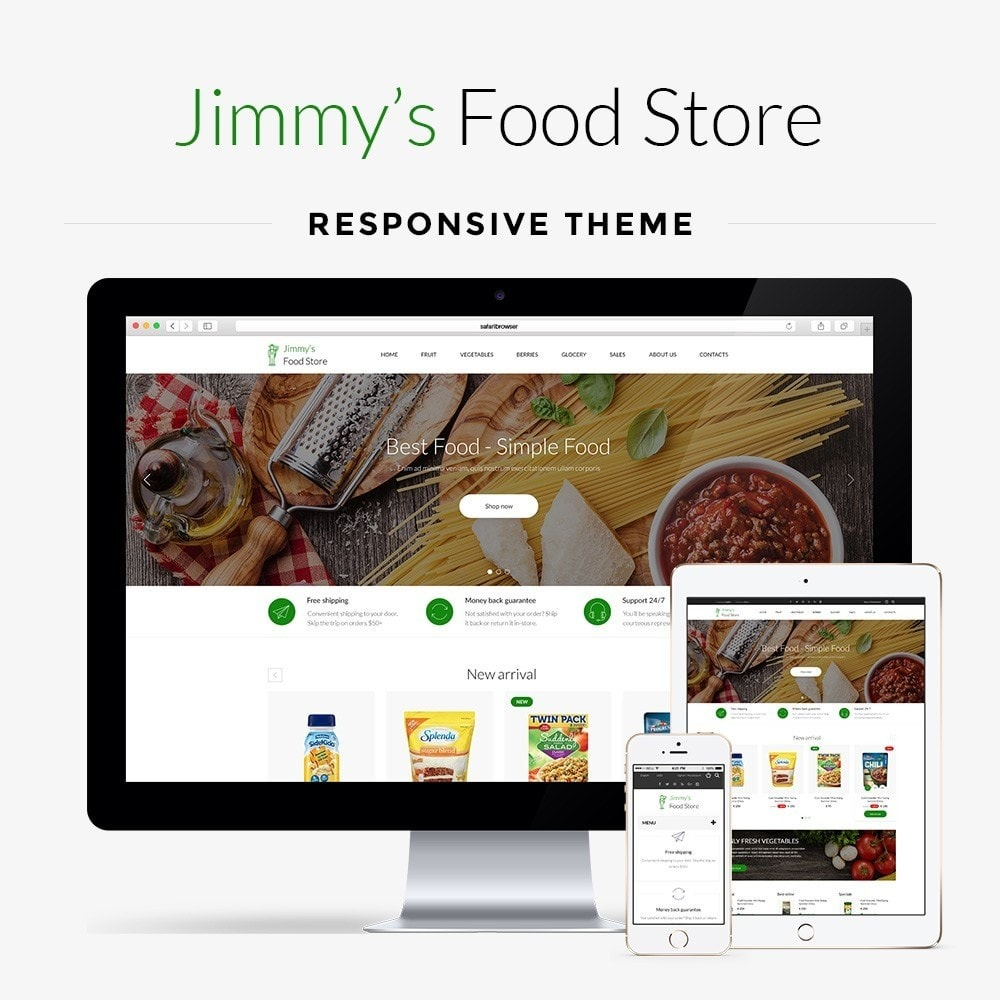 theme - Eten & Restaurant - Jimmy's Food Store - 1