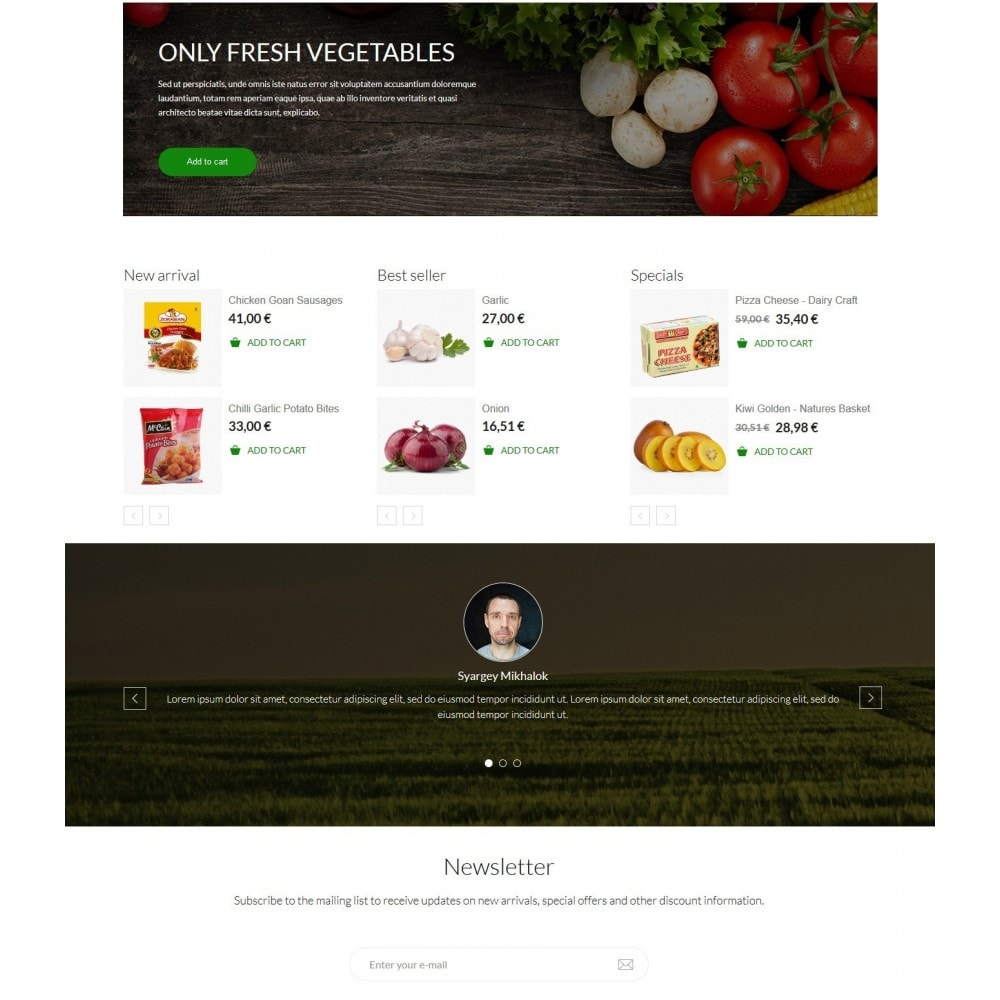 theme - Eten & Restaurant - Jimmy's Food Store - 2