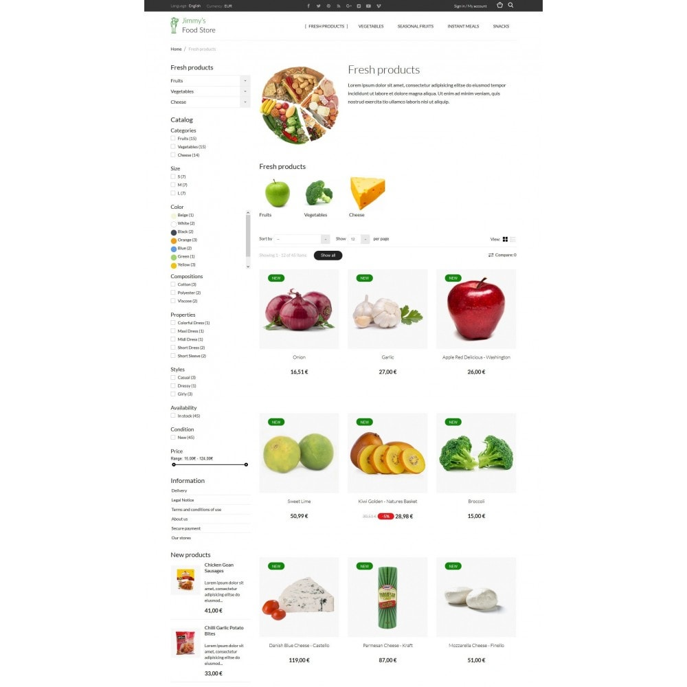 theme - Eten & Restaurant - Jimmy's Food Store - 4