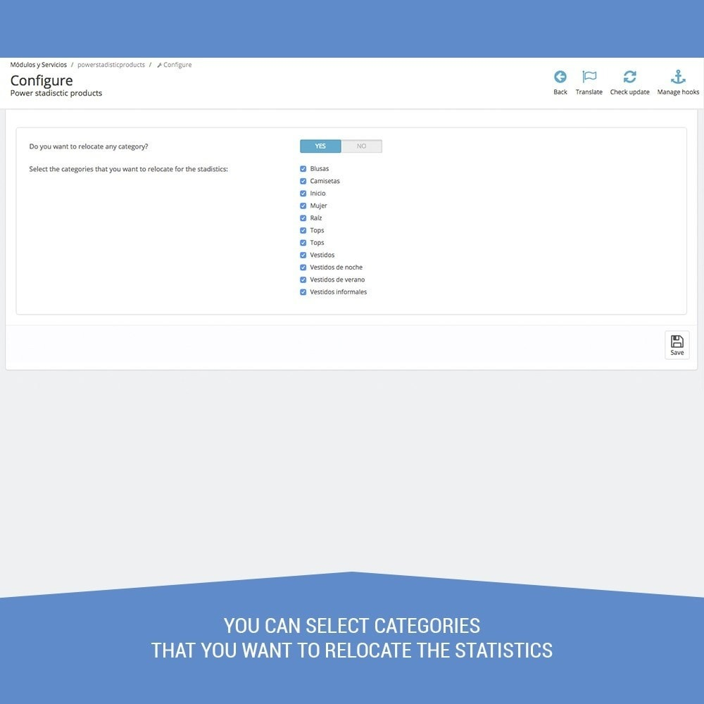 module - Analytics & Statistics - Power Stadistics - Reports sales, predictions - 4