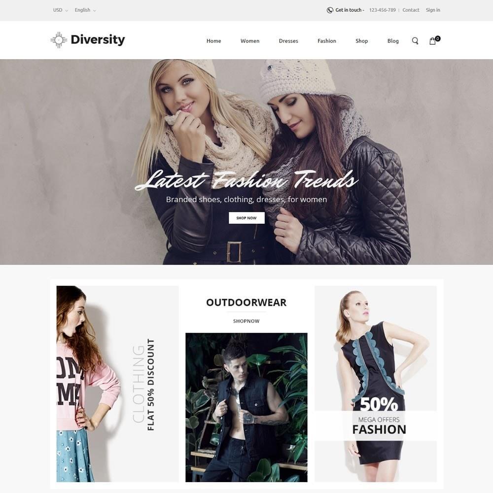 theme - Moda & Calzature - Diversity - Fashion Store - 2