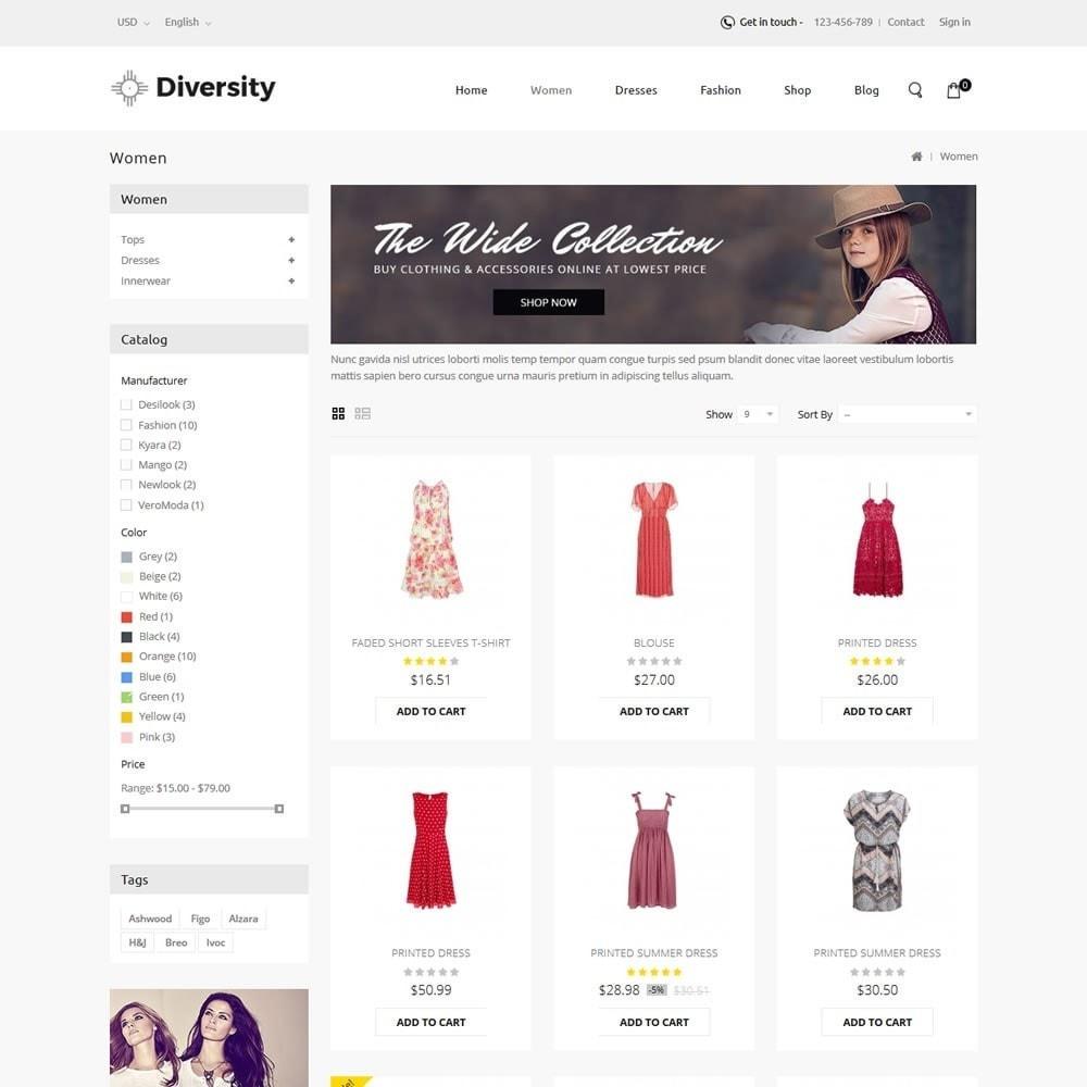 theme - Moda & Calzature - Diversity - Fashion Store - 3