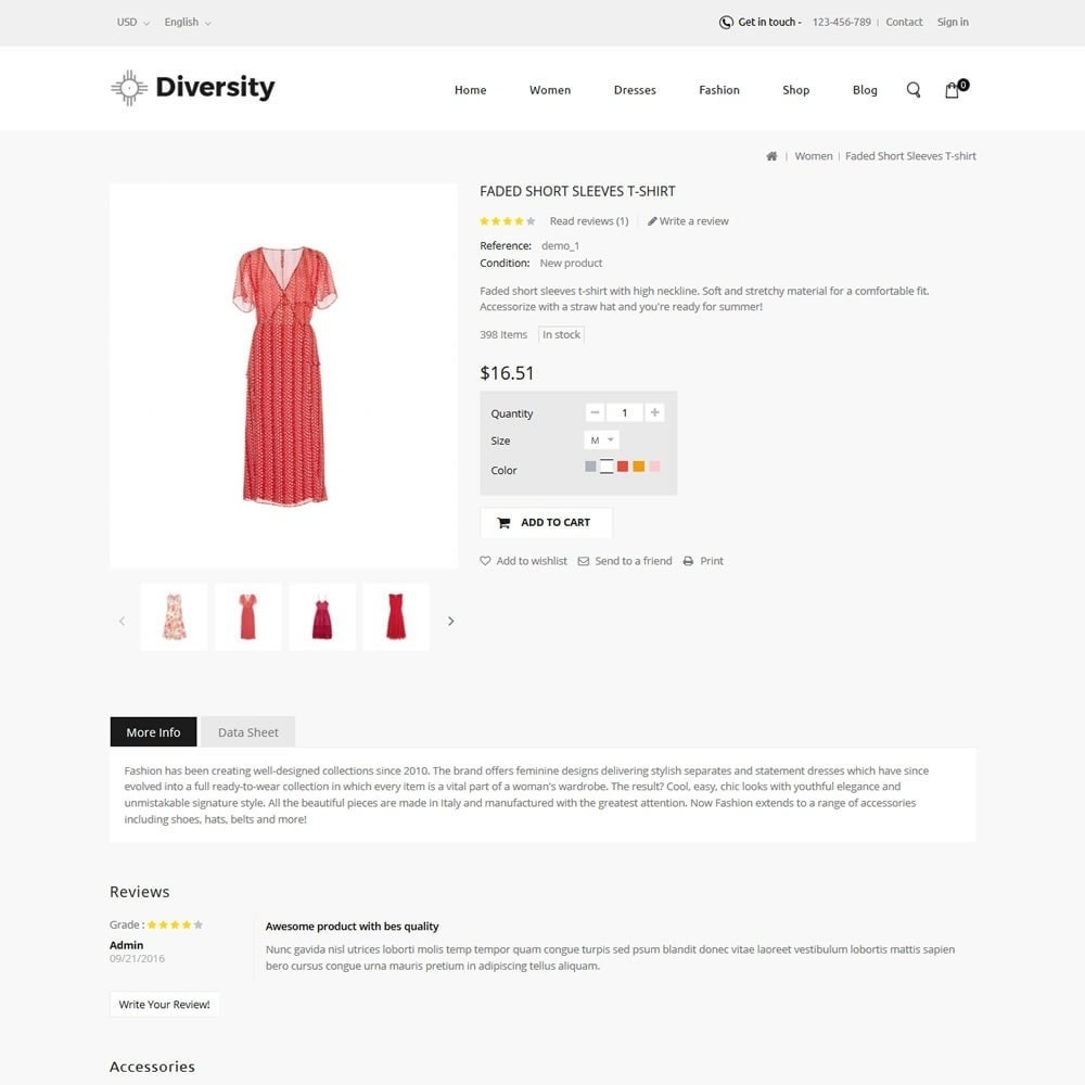 theme - Mode & Chaussures - Diversity - Fashion Store - 5