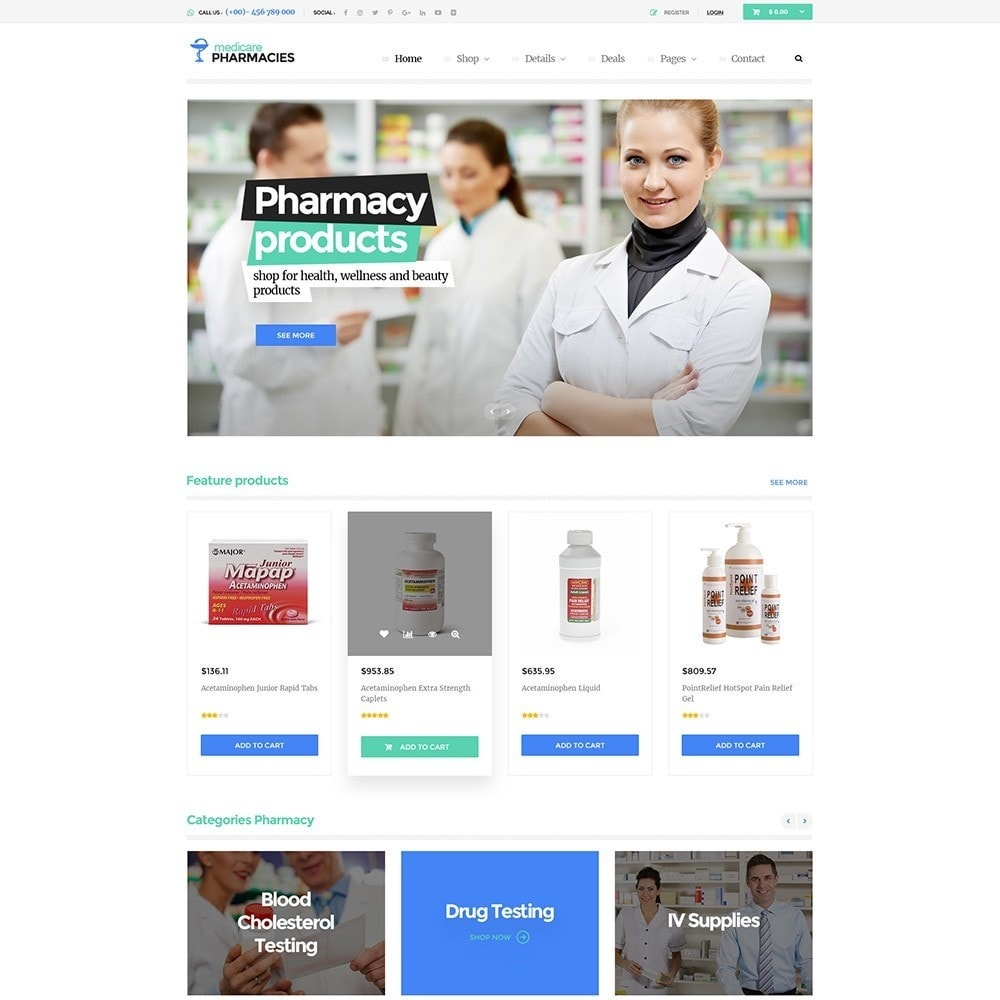 theme - Health & Beauty - Pts media pharmacy - 1
