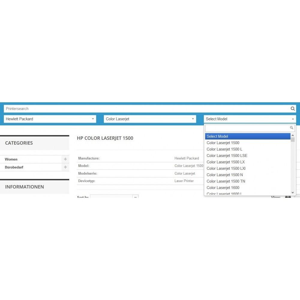 module - Ricerche & Filtri - Ink and Toner Finder (TopFINDER) - 3
