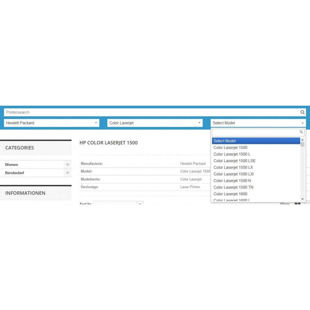module - Recherche & Filtres - Ink and Toner Finder (TopFINDER) - 3
