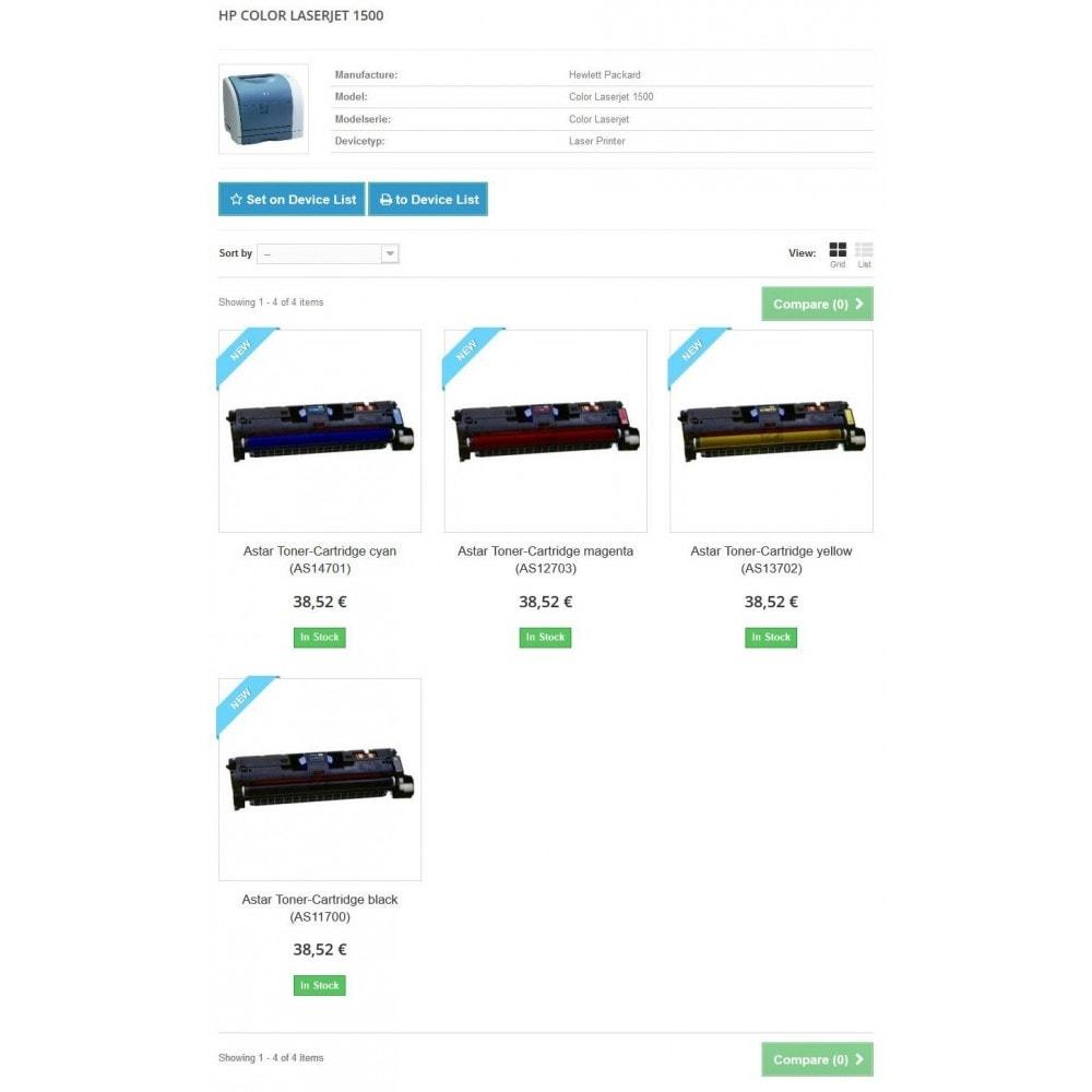 module - Ricerche & Filtri - Ink and Toner Finder (TopFINDER) - 6