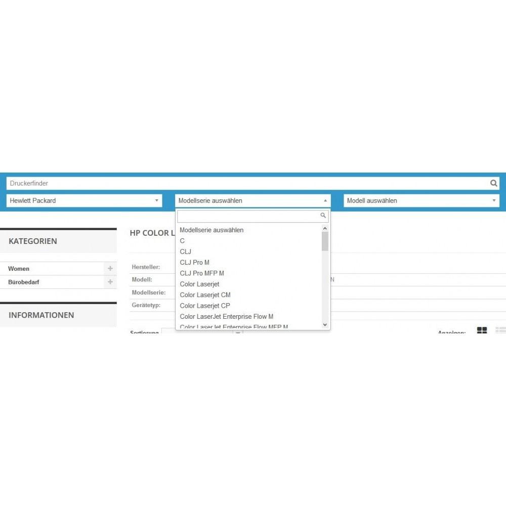 module - Suche & Filter - Tinten und Toner Finder (TopFINDER) - 2