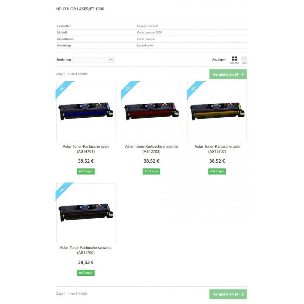 module - Suche & Filter - Tinten und Toner Finder (TopFINDER) - 5