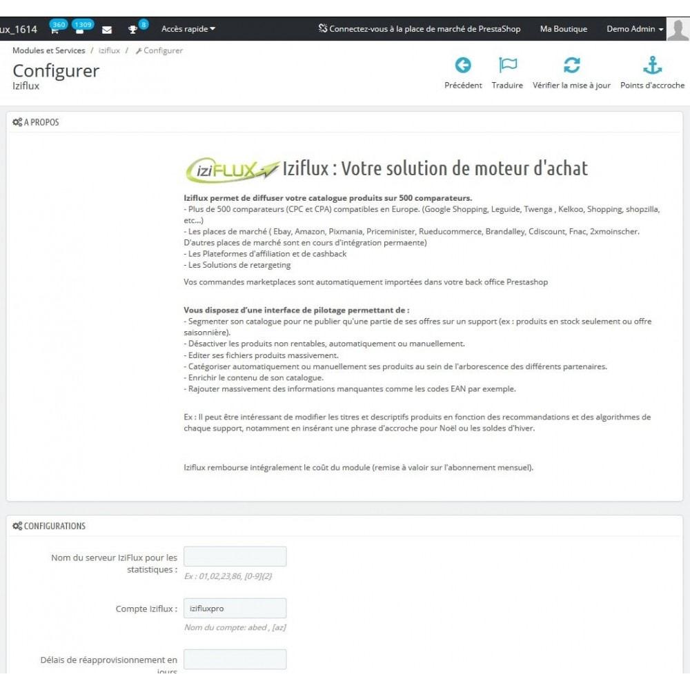 module - Marketplaces - IziFlux - 1